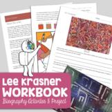 Lee Krasner Art History Workbook - Biography, Activities,