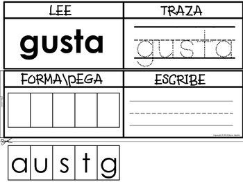 Lee, Traza, Forma, Escribe!!