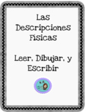 Lee, escribe, dibuja- Spanish Physical Descriptions