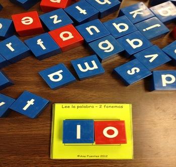 Lee la Palabra - (2 fonemas)