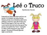 Lee o Truco! A Superhero Sight Word Game
