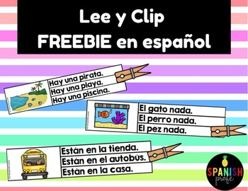 Lee y Clip Centro de Lectura Free Gratis