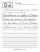 Lee y Escribe las Palabras: Ejercicios de Letra Manuscrita