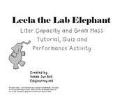 Leela the Lab Elephant Metric Measurement Tutorial PowerPoint
