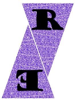 Leer Banner in Purple