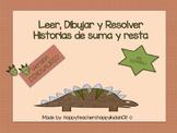 Leer, Dibujar y Resolver Historias de números ¡EN ESPAÑOL!