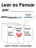 Leer Es Pensar - Reading Response Journal (Spanish)