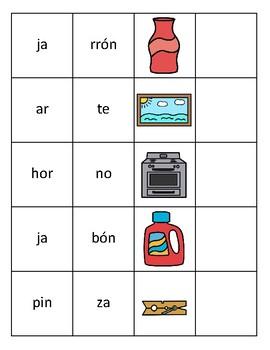Leer palabras con sílabas cerradas | Read words with closed syllables Spanish