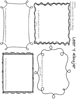 Leer y dibujar- Read and Draw