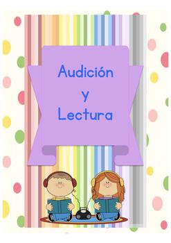 Leer y escuchar vocabulario nuevo. Lectura y Audición animales,clase,ropa,comida