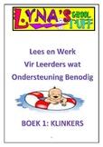 Lees en Werkboek - Klinkers