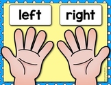 Left - Right Directional Posters