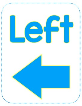 Left & Right Signs
