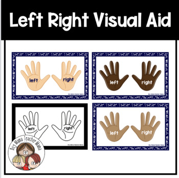 Left Right Table Cards