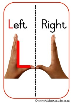 Left / Right poster