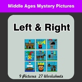 Left & Right side - Color by Emoji - Mystery Pictures - Mi