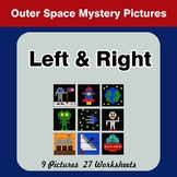 Left & Right side - Color by Emoji - Mystery Pictures - Ou