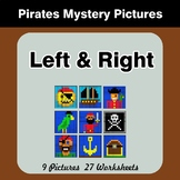 Left & Right side - Color by Emoji - Mystery Pictures - Pirates