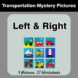 Left & Right side - Color by Emoji - Mystery Pictures - Tr