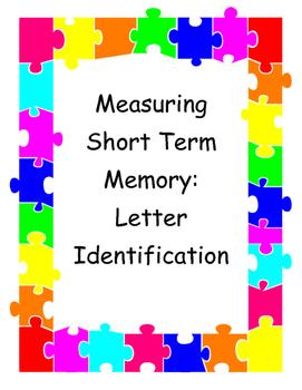 Measuring Short Term Memory - Letter Identification