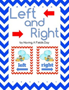 Positional Words: Left and Right- Freebie