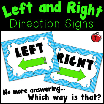 Left and Right Posters