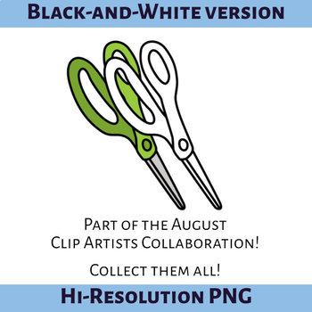 Lefty Scissors Clip Art