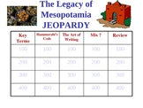 Legacy of Mesopotamia jeopardy game