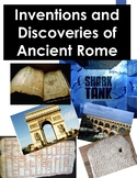 Legacy of Rome Shark Tank: Ancient Roman Inventions and Discoveries PBL