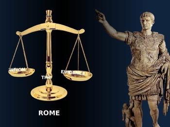 Legacy of the Roman Empire - Middle School Common Core Lesson