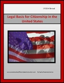 Legal Basis for Citizenship in the United States
