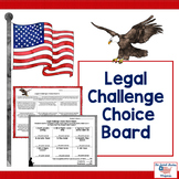 Legal Challenge Choice Board