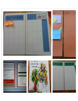 Legal Size Planner and Lesson Plan Template Booklet