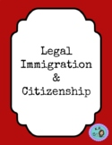 Legal immigration mini lesson