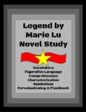 Legend by Marie Lu Novel Study Worksheets