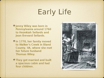 Legend of Jenny Wiley Powerpoint