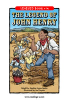 Legend of John Henry Reading A-Z  guided reading (common core aligned)