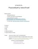 Legend of Popocatépetl y Iztaccíhuatl: comprehensible input