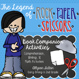 Legend of Rock Paper Scissors Book Companion Activities