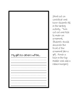 Saint Nicholas Activities {Legend Sheet, Review Sheet, Writing Pages and Craft}