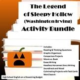 The Legend of Sleepy Hollow Activities Bundle (Washington Irving)- Word
