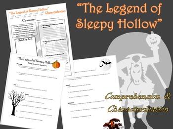 Legend of Sleepy Hollow Comprehension/Characterization