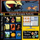 Legend of Sleepy Hollow Digital Breakout Escape Room Activity
