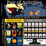 Legend of Sleepy Hollow Pair of Activities Great for Dista