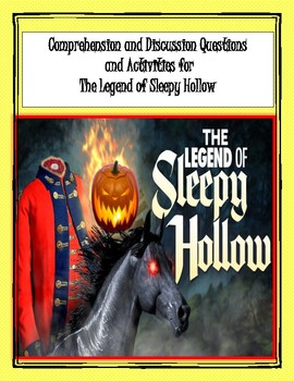 Legend of Sleepy Hollow Reading Activities