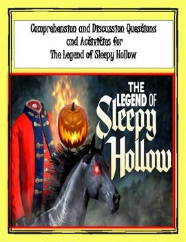 Legend of Sleepy Hollow Reading Activities