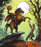 Legend of Sleepy Hollow Retell and sequencing activity