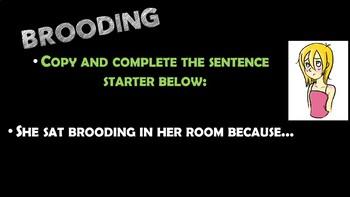 Legend of Sleepy Hollow Vocabulary and Sentences