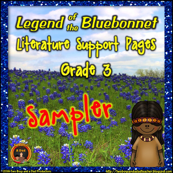 Legend of the Bluebonnet Literature Standards Support Pages SAMPLER