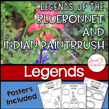 LEGENDS OF THE BLUEBONNET AND INDIAN PAINTBRUSH | Book Study by Tomie dePaola